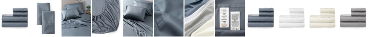 Welhome The Smooth Cotton Tencel Sateen Twin Sheet Set