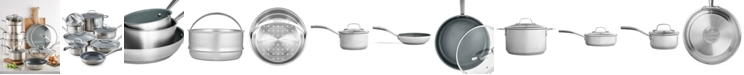Martha Stewart Collection 14-Pc. Cookware Set, Created for Macy's