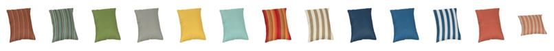 """Casual Cushion 18"""" Sunbrella Pillow"""