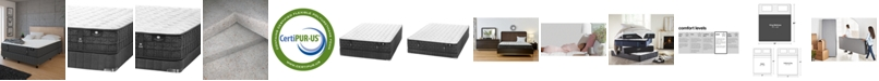"""Hotel Collection by Aireloom Coppertech 13"""" Plush Mattress Set- King, Split Box Spring- Created for Macy's"""