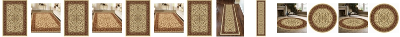 KM Home Navelli Ivory/Cream Area Rug Collection