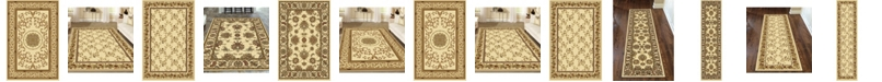 KM Home Navelli Ivory Area Rug Collection