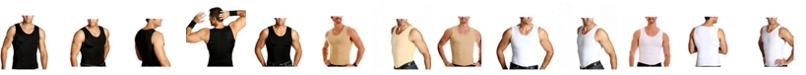 Instaslim Men's Big & Tall Insta Slim Compression Muscle Tank Top