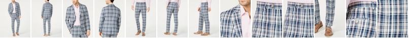 Lauren Ralph Lauren Men's Classic-Fit Plaid Madras Suit Separates