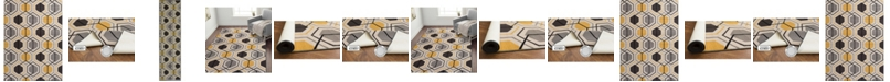 Main Street Rugs Home Laicos Lai511 Yellow Area Rug Collection