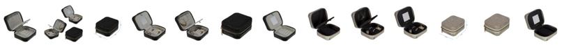 Ruby + Cash Sequin Mini Zippered Travel Jewelry Organizer Box