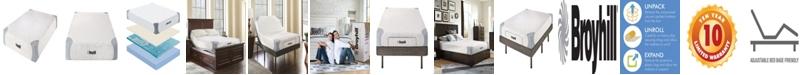"""Broyhill Sensura 8"""" Queen Memory Foam Mattress With Cooling Gelflex Foam"""