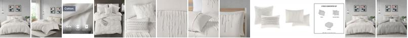 JLA Home Urban Habitat Paloma King/Cal King 5 Piece Cotton Comforter Set
