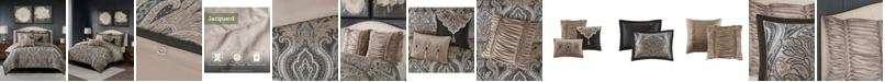 Madison Park Signature Grandover Queen 8-Pc. Jacquard Comforter Set