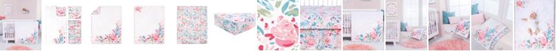 Trend Lab Painterly Floral 3-Piece Crib Bedding Set
