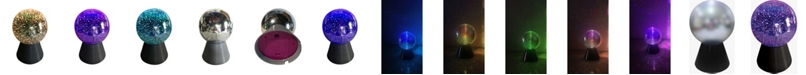 Creative Motion LED Color Changing Mirror Ball Lamp Battery-Operated