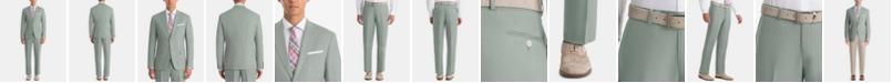 Lauren Ralph Lauren  Men's UltraFlex Classic-Fit Sage Linen Suit Separates