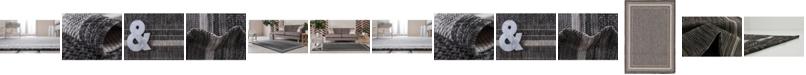 Bridgeport Home Pashio Pas5 Black Area Rug Collection