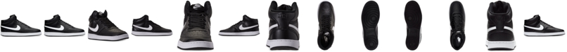 Nike Men's NikeCourt Vision Mid Casual Sneakers from Finish Line