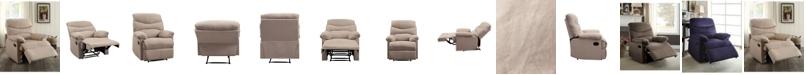 Acme Furniture Arcadia Woven Fabric Recliner