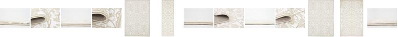 Bridgeport Home Marshall Mar1 Snow White Area Rug Collection