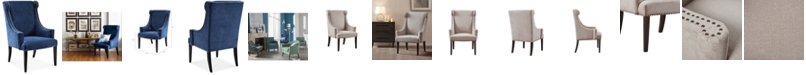 Madison Park Gwen Accent Chair, Quick Ship