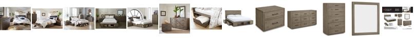 Furniture Brandon Storage Platform Bedroom Furniture Collection, Created for Macy's