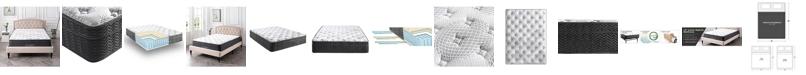 "Sleep Trends Essenza 12"" Hybrid Latex and Innerspring Plush Mattress - California King"