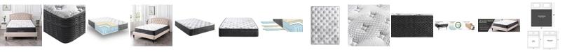 "Sleep Trends Essenza 12"" Hybrid Latex and Innerspring Plush Mattress - King"