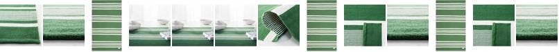 Lauren Ralph Lauren Hanover Stripe LRL2461B Green Area Rug Collection