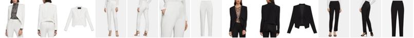 BCBGMAXAZRIA Asymmetrical Blazer & Trouser