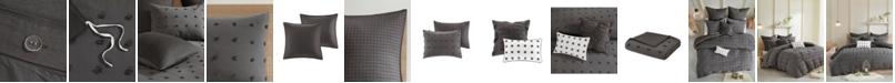 Urban Habitat Brooklyn 5-Pc. Twin/Twin XL Cotton Jacquard Duvet Cover Set