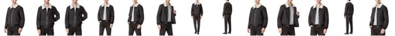 DKNY Wool Blend Bomber Jacket