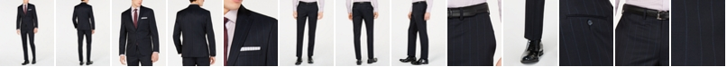 DKNY Men's Modern-Fit Pinstripe Suit Separates