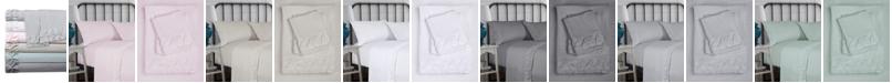 Hudson & Main Hudson Main Clover Ruched Ultrasilk Full Sheet Set