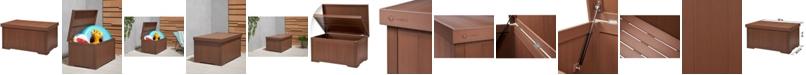 TRINITY Ecostorage 70 Gallon Outdoor Deck Box