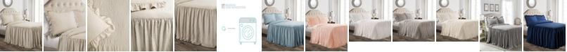 Lush Decor Ruffle Skirt 3-Piece King Bedspread Set