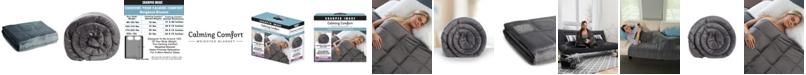 Sharper Image Calming Comfort 25lb Weighted Blanket