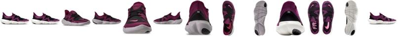 Nike Women's Free Run 5.0 Running Sneakers from Finish Line