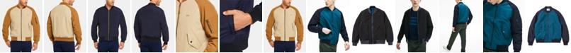 Lacoste Men's Regular Fit Lightweight Reversible Bomber Jacket
