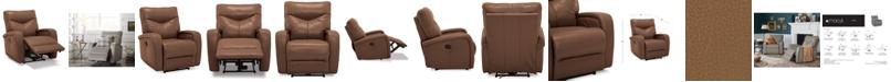 Furniture Erith Leather Power Wallhugger Recliner