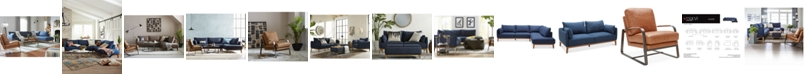 Furniture Jollene Fabric Sectional and Sofa Collection, Created for Macy's