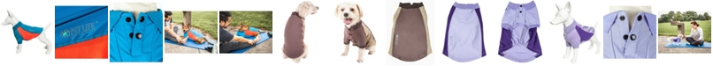 Pet Life Central Pet Life Active 'Barko Pawlo' Relax Stretch Performance Dog Polo T-Shirt