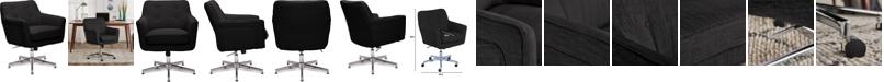 La-Z-Boy Serta Ashland Home Office Chair, Quick Ship