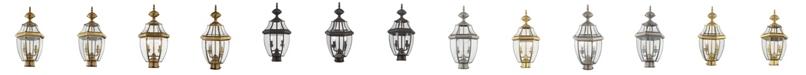Livex Monterey 2-Light Outdoor Post Lantern A