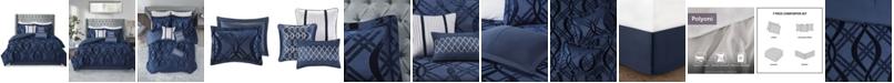 Madison Park Dolores 7 Piece King Comforter Set