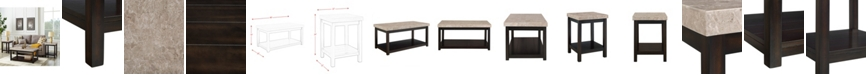 Picket House Furnishings Caleb 3 Piece Occasional Table Set-Coffee Table and Two End Tables
