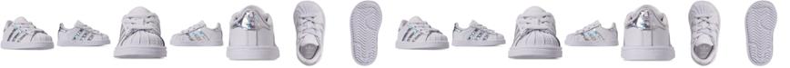 adidas Toddler Girls' Originals Superstar Sneakers from Finish Line