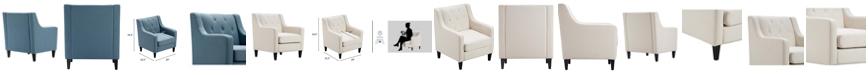 Serta Nina Tufted Accent Chair, Quick Ship