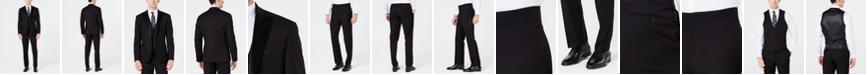 Ryan Seacrest Distinction Men's Slim-Fit Stretch Black Tuxedo Suit Separates, Created for Macy's