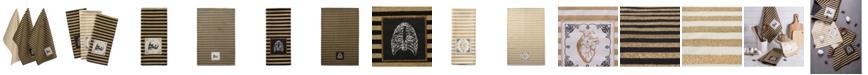 Design Import Skeleton Applique Dishtowel Set