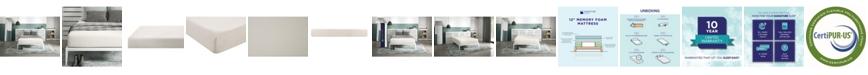 Signature Sleep  Cally 12'' Memory Foam Mattress Foam