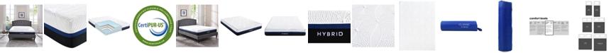 "Sleep Trends Vanetia 11.5"" Medium Firm Hybrid Mattress Collection"