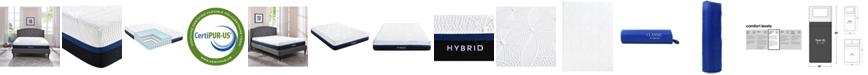 "Sleep Trends Vanetia 11.5"" Medium Firm Hybrid Mattress- Twin XL"