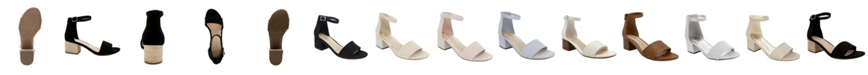 Sugar Women's Noelle Block-Heel Sandals